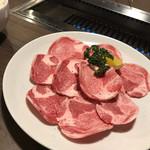 炭火焼肉 円寿 - 料理写真:黒毛和牛あご