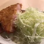 食事処 こもれび - 厚切りハムカツ