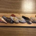 102404956 - シャコが絶品でした。トリ貝も厚みがあってほんのり甘い。ミズタコも初めて食べたけど、美味しい。