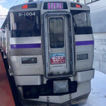 ラッキーピエロ - 新幹線を降りたら、この函館ライナーで移動します!!