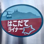 ラッキーピエロ - ここまで来たら、「函館駅」まであと少し…
