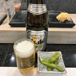 寿司の美登利総本店 - 瓶ビール