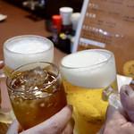晴レルヤ酒場 - トリビーで乾杯〜♪