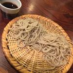 102408522 - 蕎麦(もり):右長野産、左茨産