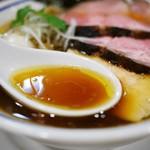手打式超多加水麺 ののくら - 特製中華そば 醤油