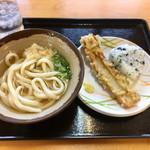 セルフうどん 天狗 - 料理写真:今日のお昼ごはん