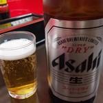 満州亭 - ビール