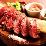 バルデビス - ステーキ  アンガス牛のステーキ