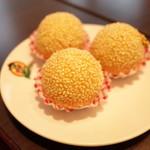 翠葉  - ごま団子
