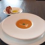 Mar Rosso - 伊勢海老のビスクスープ