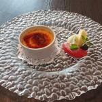 Mar Rosso - クレーマ・カタラーナ    イタリア風クリームブリュレ