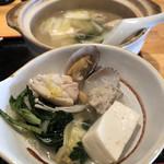 炭火串焼 鳥悠 - 数量限定《ちゃんこ鍋定食》900円