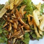 ボンジョルノ - 料理写真:森のきのこサラダ