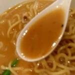 陳麻家 - 【2019.2.22(金)】みそらーめん(並盛)800円のスープ
