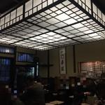 神田まつや - あっという間に店内満席 お一人&ご年配が多いのが老舗らしいですね