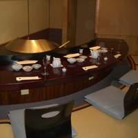 まつむら - 掘りごたつ式の天婦羅専用の個室