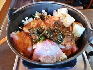 大浜丸 魚力 - どぶ汁風あんこう鍋です