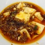 102437854 - 陳麻婆豆腐 ランチセット 1000円                       (ご飯、サラダ、スープ、デザート付き)