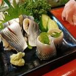 福寿司 - こはだツマミ