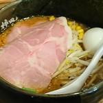 味噌らーめん専門店 柿田川 ひばり - 料理写真:特ひばり味噌こってりラーメン❗