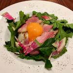 ギオン ダック ヌードルズ - 鴨丼(M) 卵黄トッピング