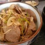 にくや - 焼肉丼定食