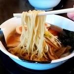102446727 - 手仕事らぁめん八@新潟 特製煮干し中華 麺
