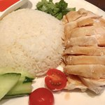 102447001 - 【海南鶏飯  鶏大 ¥1.250】