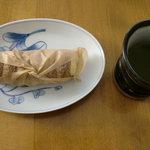 お菓子の店 ファリーヌ - 日本茶も合いますよ。