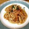 レストラン シェモア - 料理写真:◆トリッパ・トマトソース・スパゲッティー二     パルミジャーノ風味                   950円