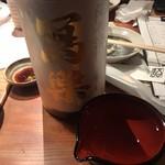 路地裏魚金 - 冩楽 純米酒