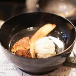 山猫軒 - 鱧と松茸のスープ