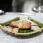 山猫軒 - 桜美豚の串焼き