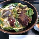 肉八 - 料理写真:さくら丼