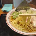 胡座 - 麺アップ