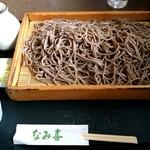板そば なみ喜 - 板そば 大(おお板) 1,150円