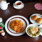 喫茶&福祉ショップ もみの木 - 料理写真:ナポリタンのランチ