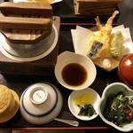 磯之河 - 鯛釜飯天ぷら御膳