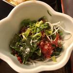 磯之河 - 海藻サラダ