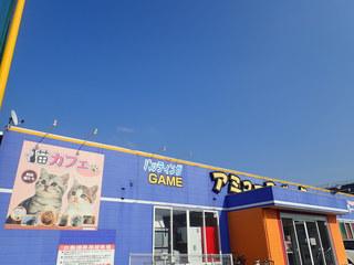 猫カフェアミパ 仙台港店 - ヨウジロウは逆方向から入ったミャ。アミューズパークの中の猫カフェミャ。