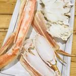 海勇水産 - 焼きズワイガニ