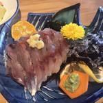 磯料理 開福丸 - アジのたたき