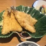 磯料理 開福丸 - キスのフライアップ
