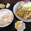 定食屋ジャンケンポン - 料理写真:上ホルモン定食¥980