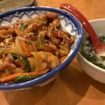 口福館 - 焼肉丼