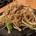 口福館 - ハチノスと葱の和え物