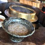 塚原の里 - 蕎麦がゆ