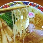 中華そば 鈴木 - 麺リフト