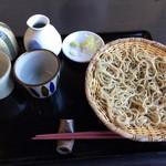 手打ち蕎麦と酒 佳蕎庵 - 佳蕎三昧の生粉打ちです。