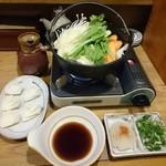 千番 - 湯豆腐×一口餃子生5個